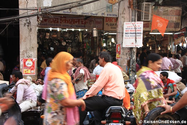 Chandi Chowk in Old Delhi