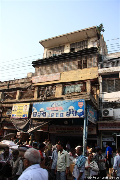 Chandi Chowk in Old Delhi