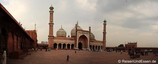 Panorama der Jama Masjid