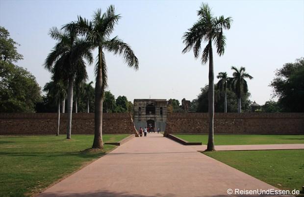 Äusserer Bereich beim Humayun Mausoleum