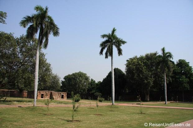 Äusserer Bereich in der Parkanlage vom Humayun Mausoleum