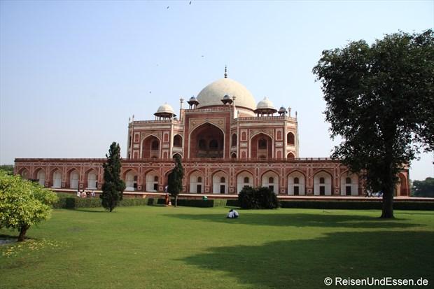 Blick auf das Humayun Mausoleum