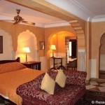 Unser Palasthotel Samode Haveli in Jaipur