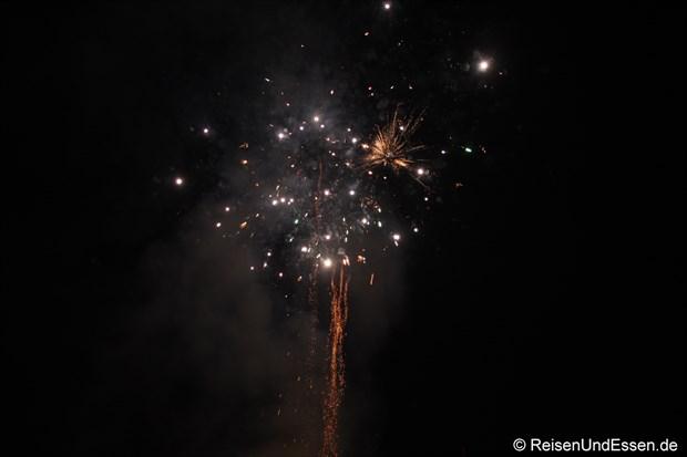 Samode Haveli - Feuerwerk zu Diwali