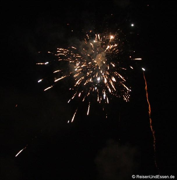 Samode Haveli - Feuerwerk an Diwali