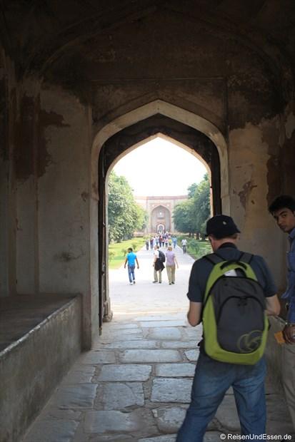 In der Parkanlage vom Humayun Mausoleum