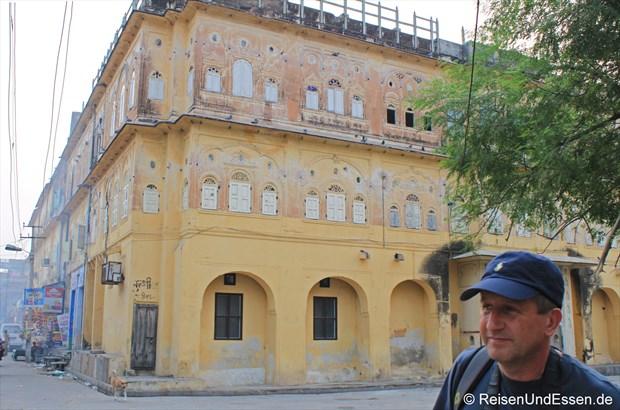 Auf geht es zur Erkundung von der Altstadt in Jaipur