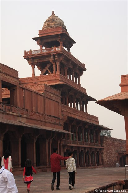 Panch Mahal in Fatehpur Sikri