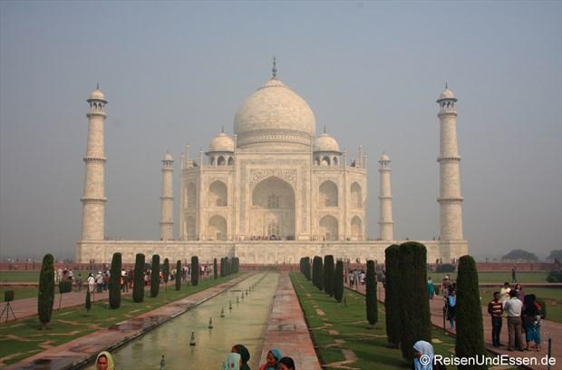 Blick auf Taj Mahal