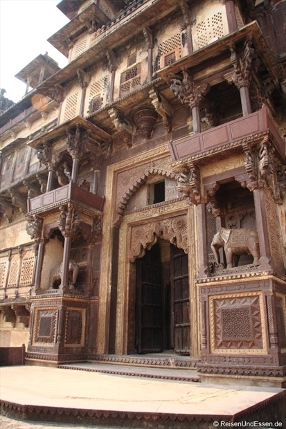 """""""Hintereingang"""" in das Fort in Orchha"""