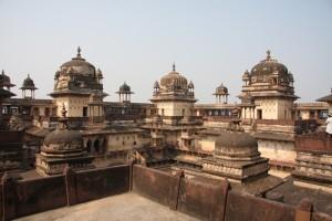 Mit dem Shatabdi-Express von Agra nach Jhansi und weiter nach Orchha