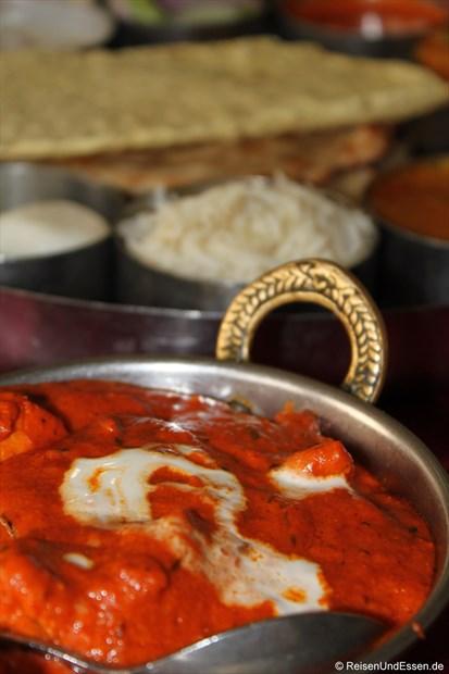 Spezialität Chicken Masala