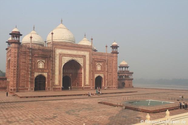 Moschee auf der westlichen Seite