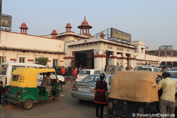 Bahnhof in Agra