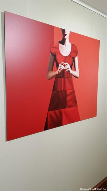 In einer Galerie in Düsseldorf