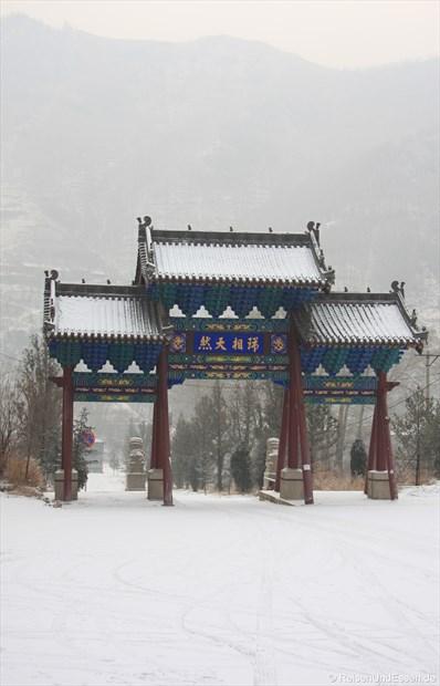 Wutai Shan im Schnee