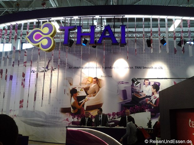 Thai Airways auf der ITB 2014