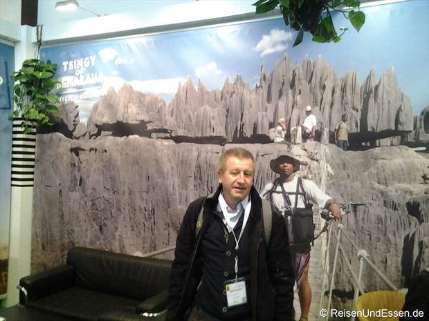 Auf dem Stand von Madagaskar auf der ITB 2014
