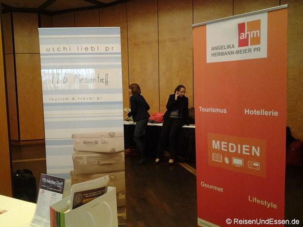 ITB Medien-Treff bei PR Agentur ahm und Uschi liebl