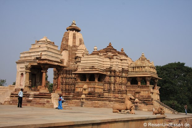 Kandariya-Mahadeva-Tempel in der westlichen Tempelgruppe von Khajuraho