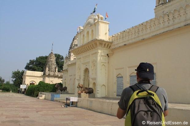 Auf der Suche nach dem Motiv in Khajuraho