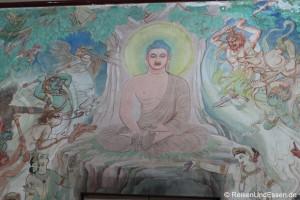 Auf den Spuren Buddhas in der Wallfahrtsstätte in Sarnath