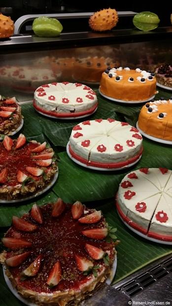 KaDeWe - Auswahl an Kuchen