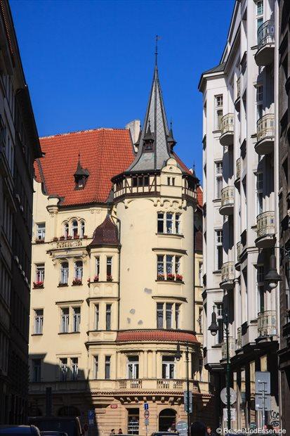In der Altstadt von Prag
