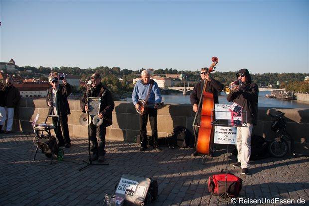 Musikanten auf der Karlsbrücke