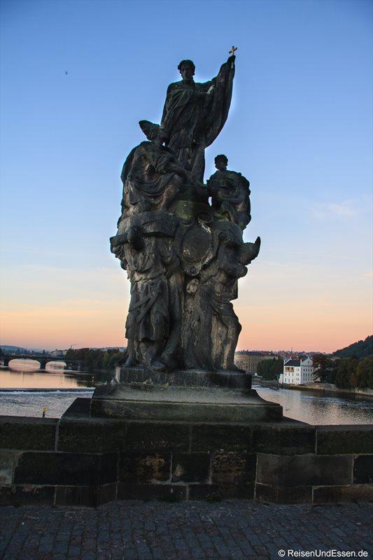 Heiliger Franziskus Xaverius aus 1711 auf der Karlsbrücke