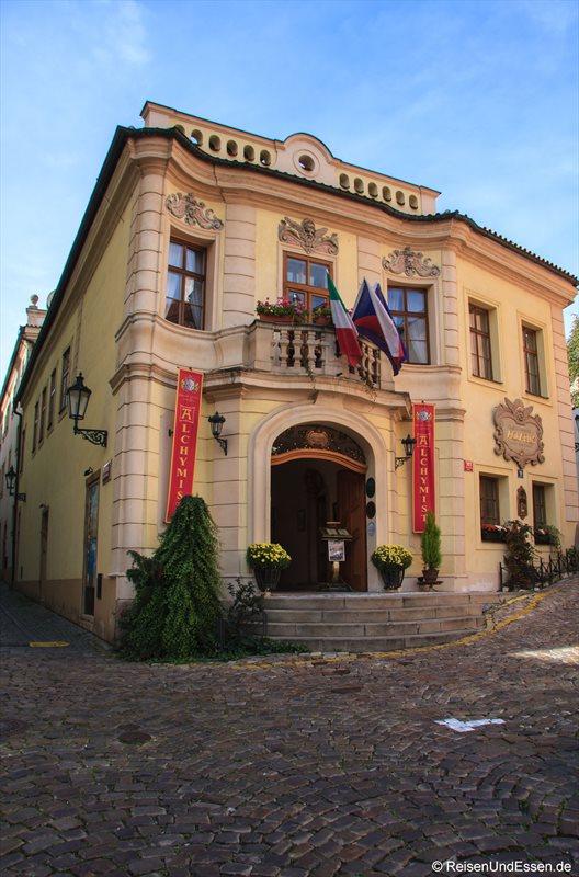 Durch die Gassen von Prag Richtung Kloster Strahov