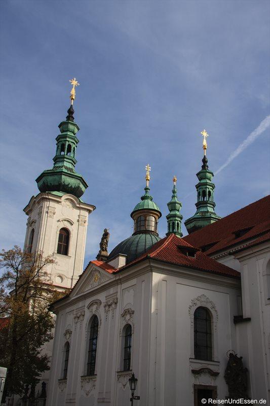 Kloster Strahov auf Prag