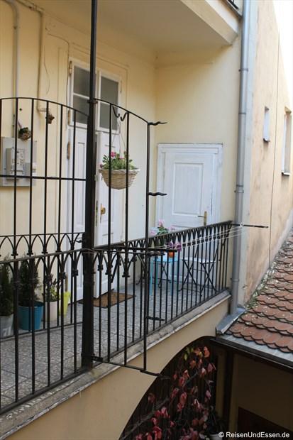 Zugang zur Ferienwohnung in Prag