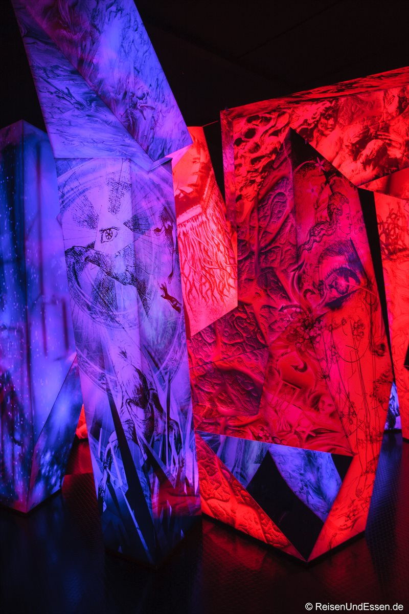 Reflexionen in den Swarovski Kristallwelten