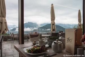 Frühstück mit Ausblick im 3'60 Grad Restaurant