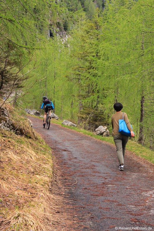 Auf dem Weg Richtung Kehlstein
