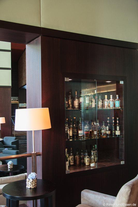 Auswahl an Whisky im Intercontinental Berchtesgaden Resort