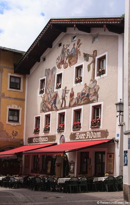 Gasthaus am Marktplatz in Berchtesgaden