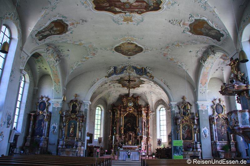 In der Stadtpfarrkirche St. Gallus