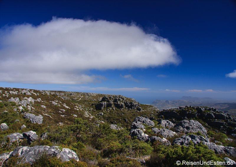 Wolken auf dem Tafelberg
