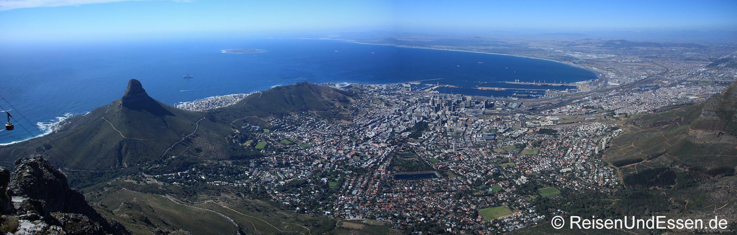 Panorama vom Tafelberg