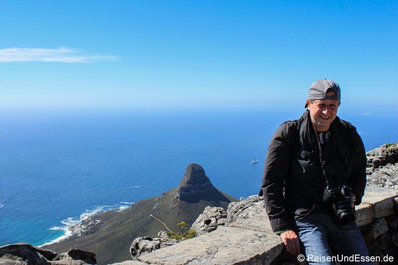 Bei der Bergstation auf dem Tafelberg