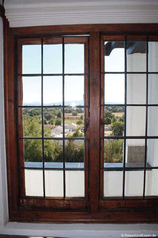 Blick aus unserem Zimmer in der Karoo Lodge