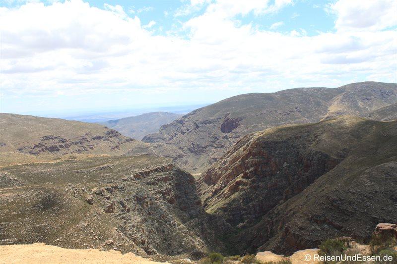 Blick vom Swartberg Pass Richtung Norden