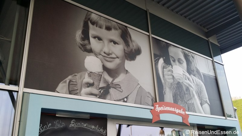 Tante Ju's Speisenwerkstatt beim Besucherpark Flughafen München