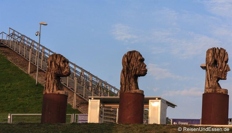 Skulpturen am Besucherpark Flughafen München