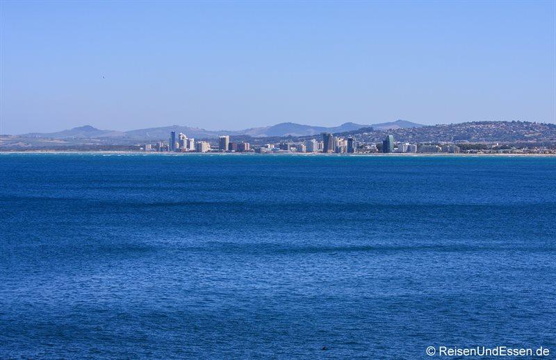Blick in Richtung Kapstadt