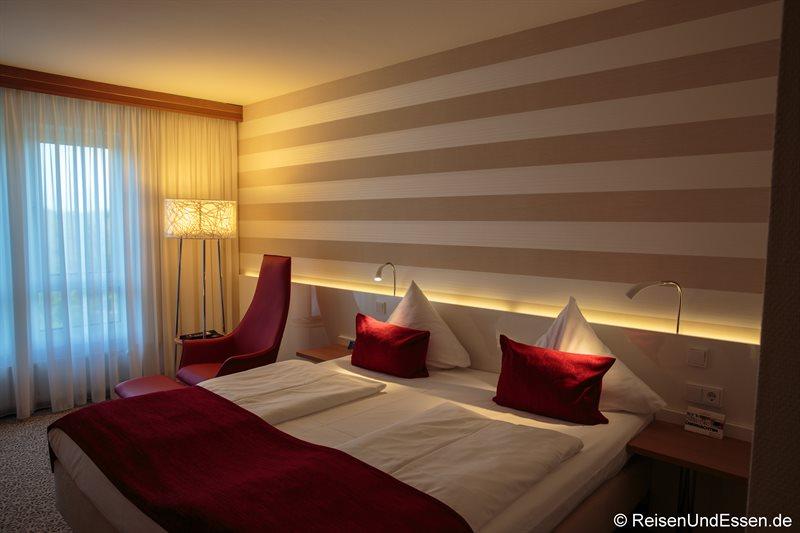 Unser Superior Zimmer im Radisson Blu Karlsruhe