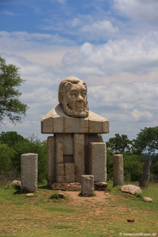 Statue von Paul Krüger