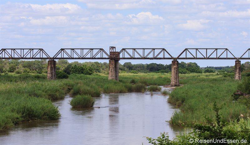 Brücke über den Sabi River